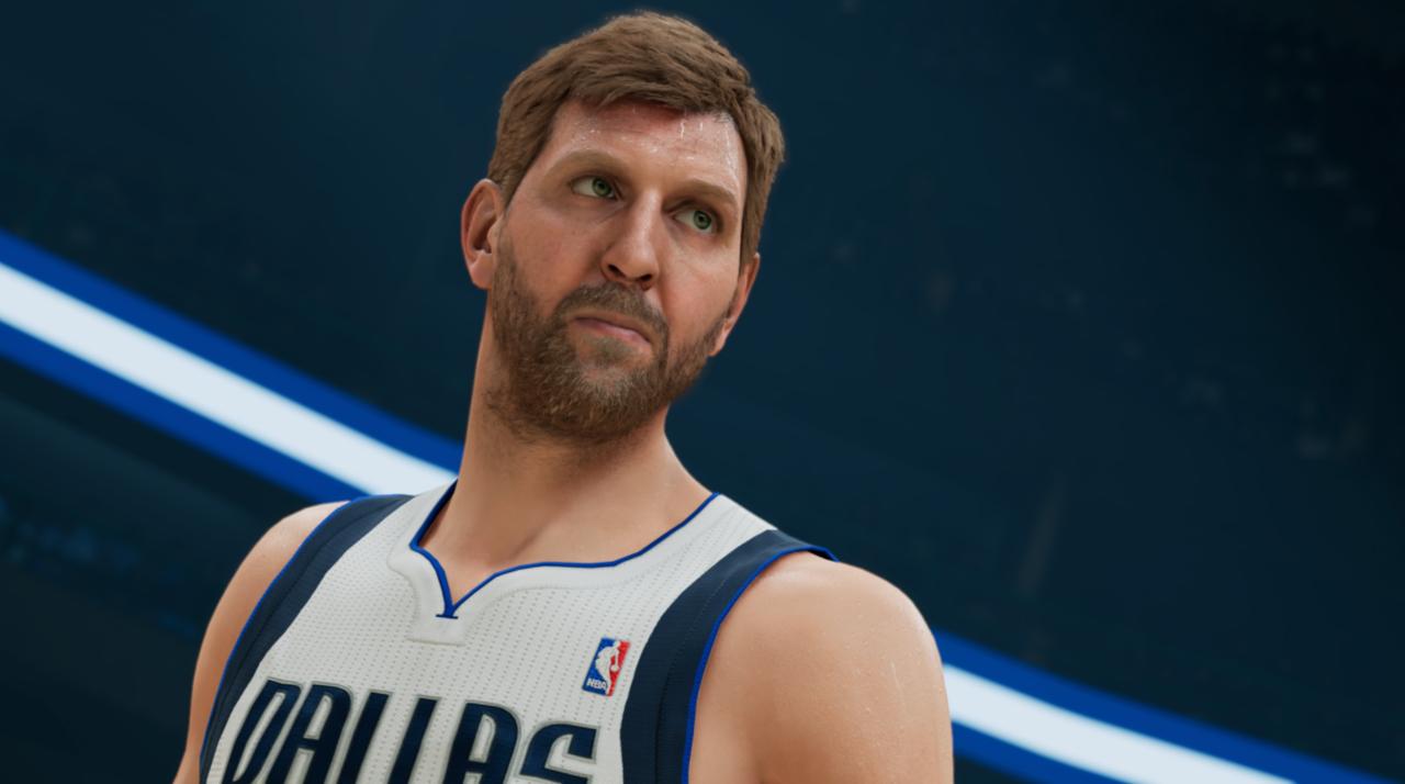 Dirk Nowitzki en NBA 2K22