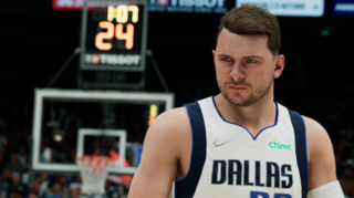 Aquí está Luka Doncic en NBA 2K22