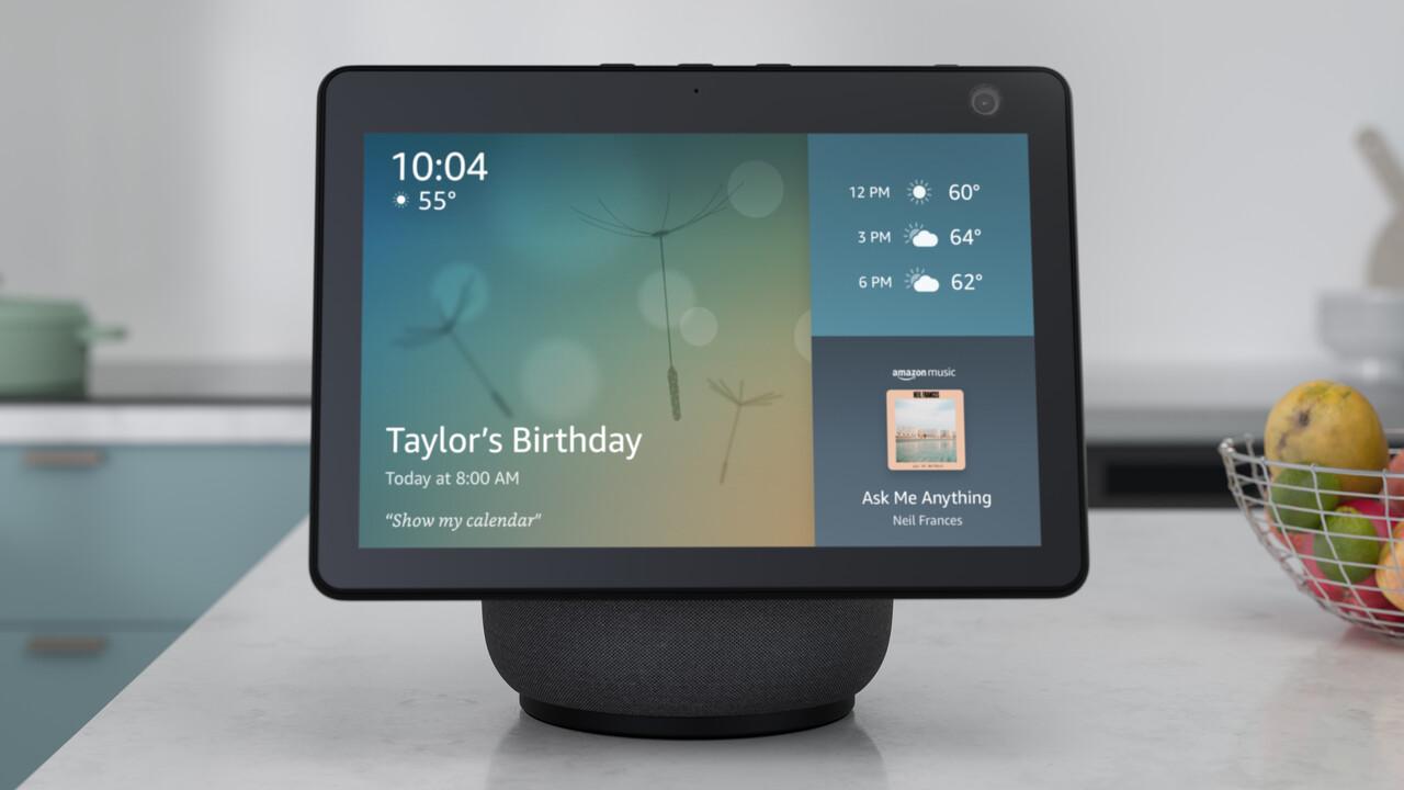Alexa Live: Skills bekommen Widgets und viele neue Funktionen