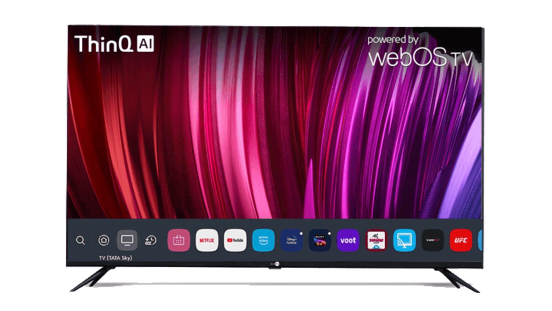 El televisor insignia de Daiwa cuenta con altavoces Surround Sound Box de 20 W con tecnología de sonido Dolby Audio.  Imagen: Daiwa