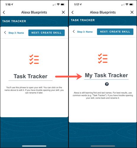 Nombra tu habilidad Task Tracker