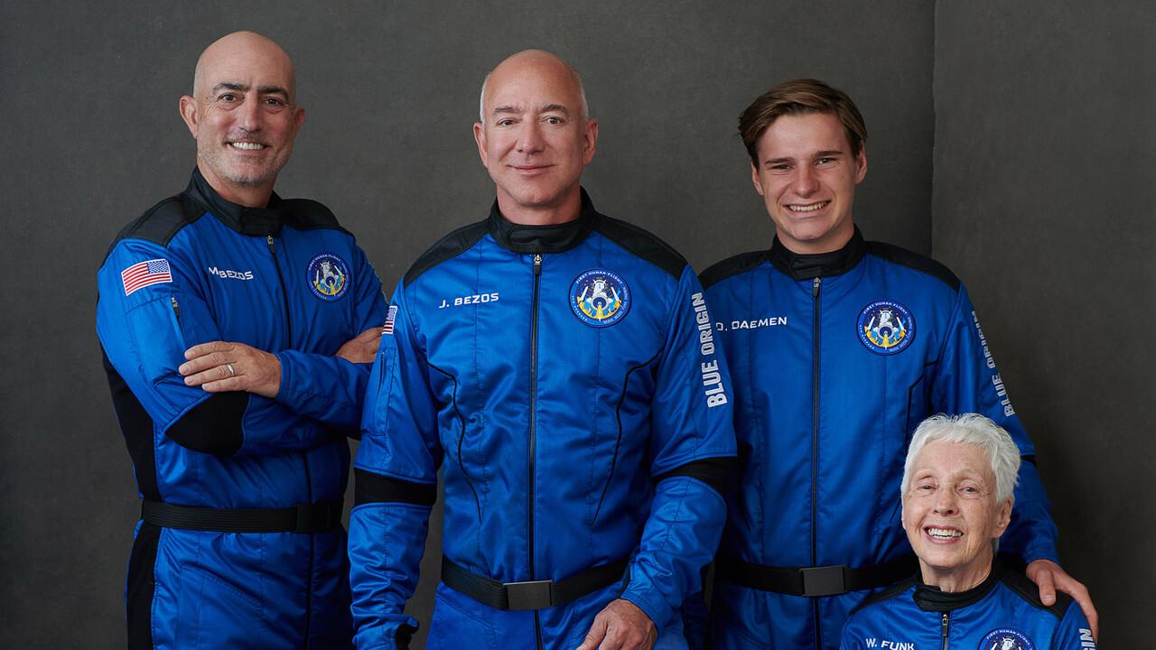 Blue Origin New Shepard: el primer vuelo espacial privado de Jeff Bezos en transmisión en vivo