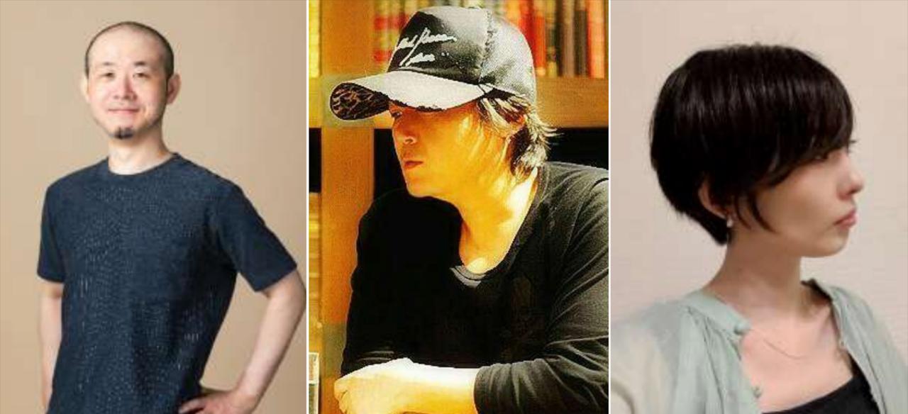 De izquierda a derecha: Gen Kobayashi, Tetsuya Nomura, Miki Yamashita (fotos proporcionadas por Square Enix)