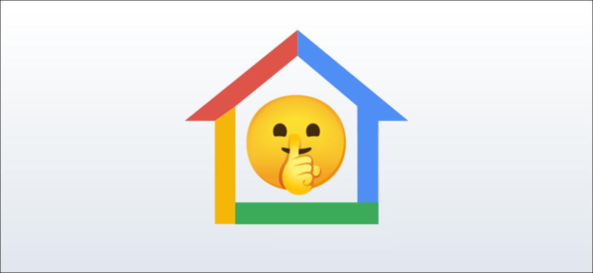 google home silencioso