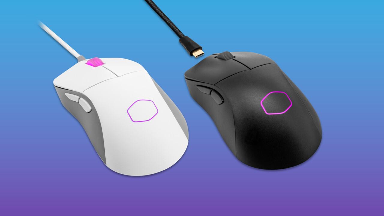 Cooler Master MM730 y MM731: ratones ergonómicos para juegos que pesan menos de 50 gramos