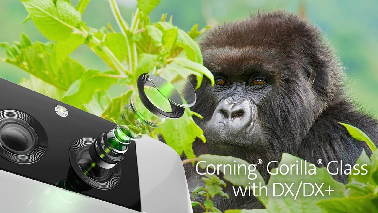 Corning: Gorilla Glass ahora también está disponible para cámaras de teléfonos inteligentes