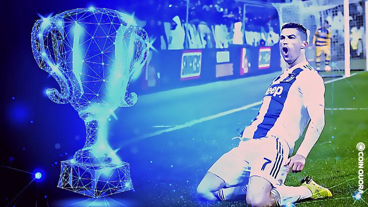 Cristiano Ronaldo Wins Top Scorer Blockchain-Based Trophy
