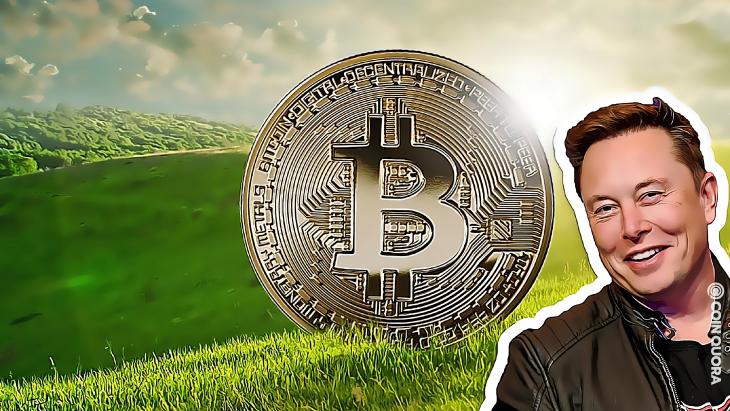 Elon Musk Thinks BTC Is On Its Way Toward a Greener Future
