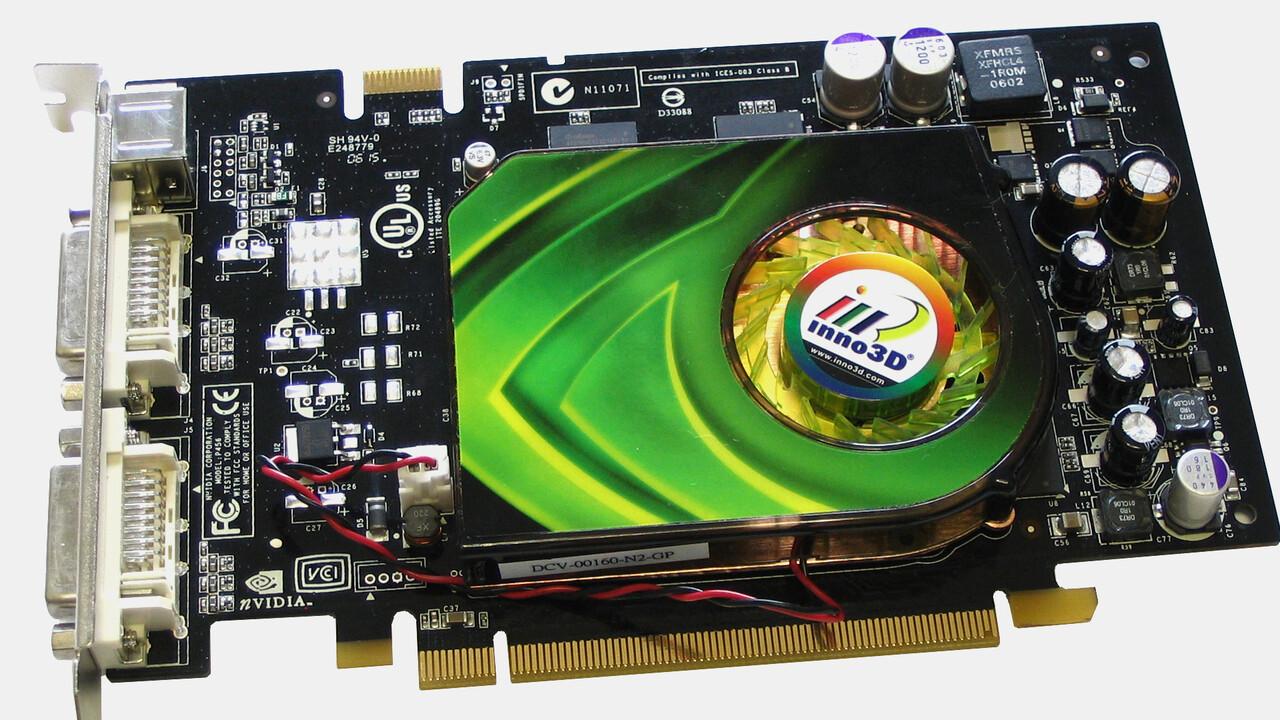 En la prueba de hace 15 años: la punta absoluta de precio-rendimiento GeForce 7600 GST