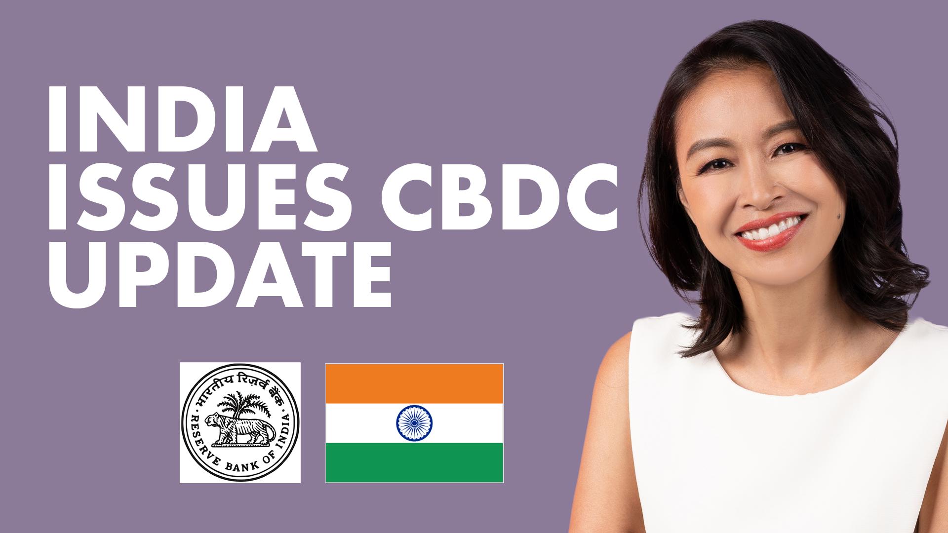 India publica actualización de CBDC;  Corea amenaza con bloquear intercambios