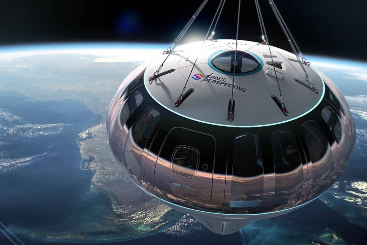 Una cápsula de perspectiva espacial sobre la Tierra.