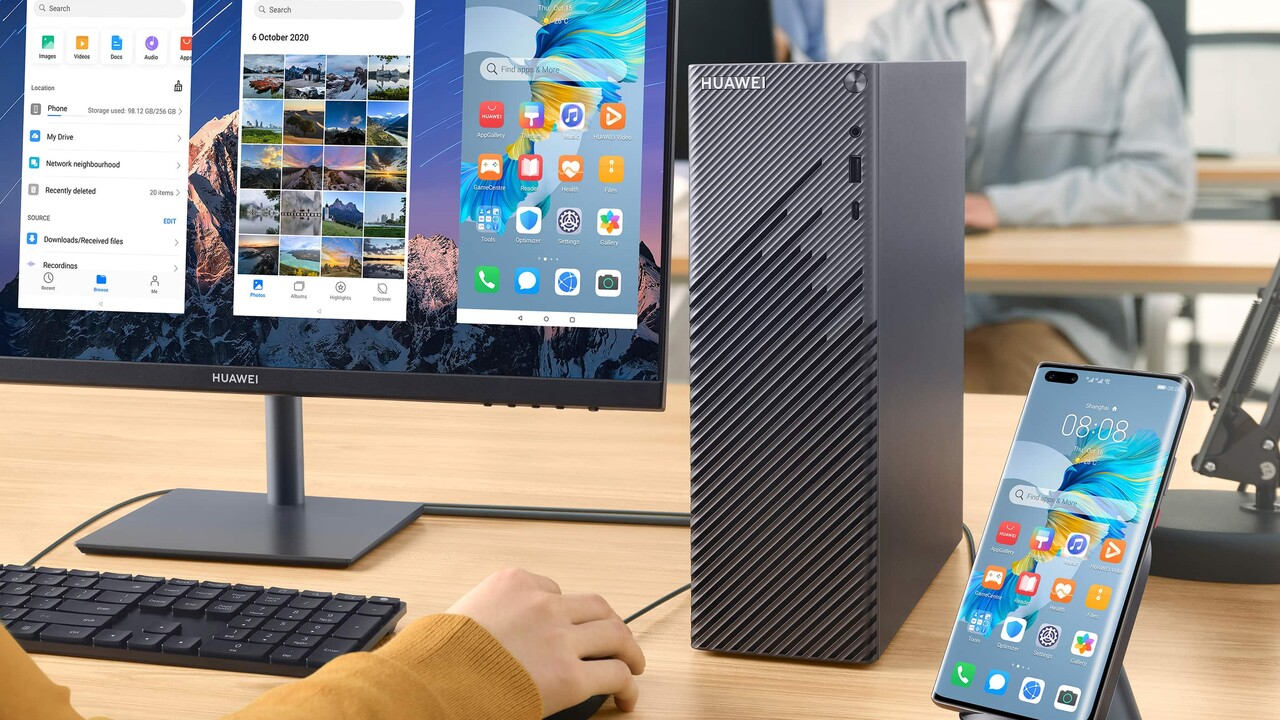 MateStation S: Huawei trae PC de escritorio con Ryzen 5 4600G por 600 euros