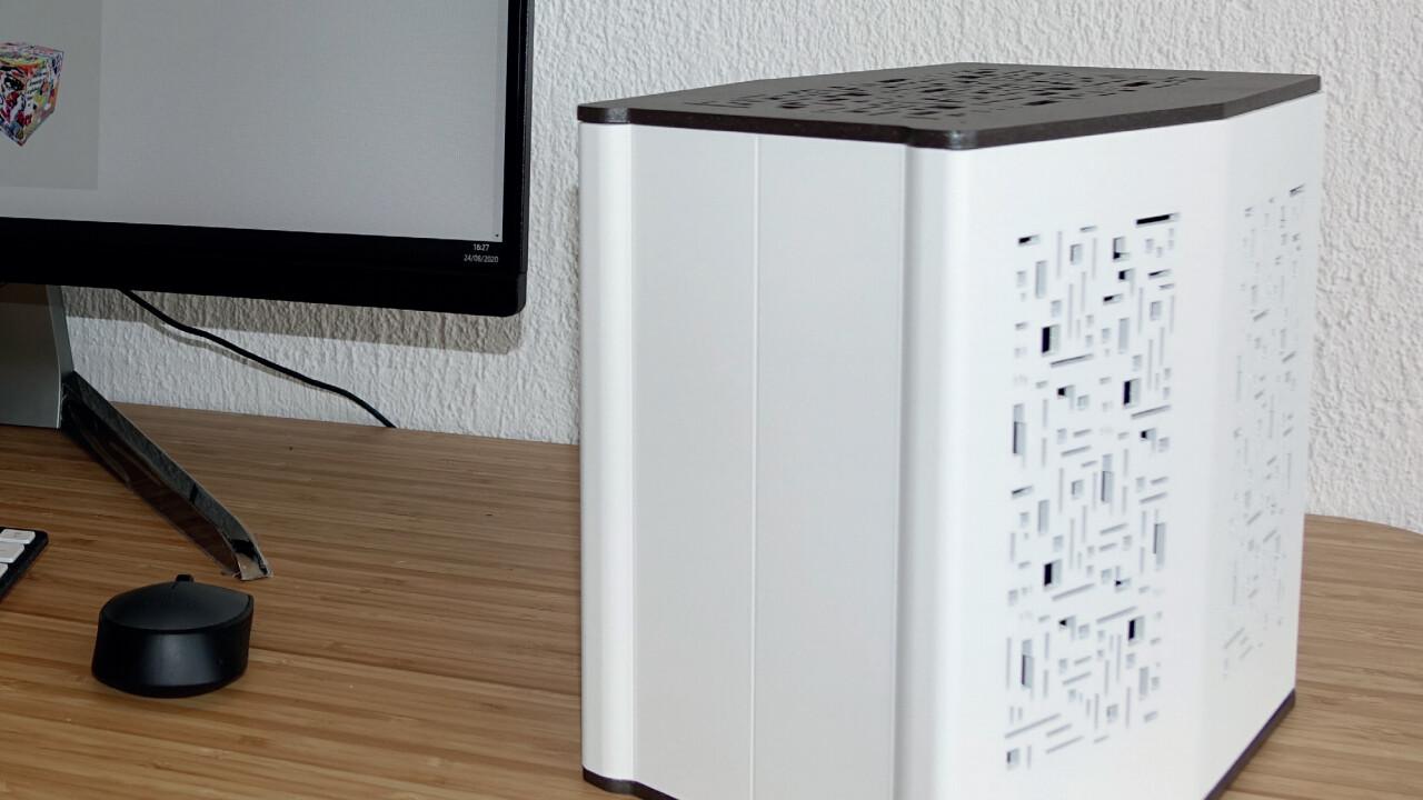 Mini PC portátil: Bleujours Move² también con CPU Xeon y GPU Quadro