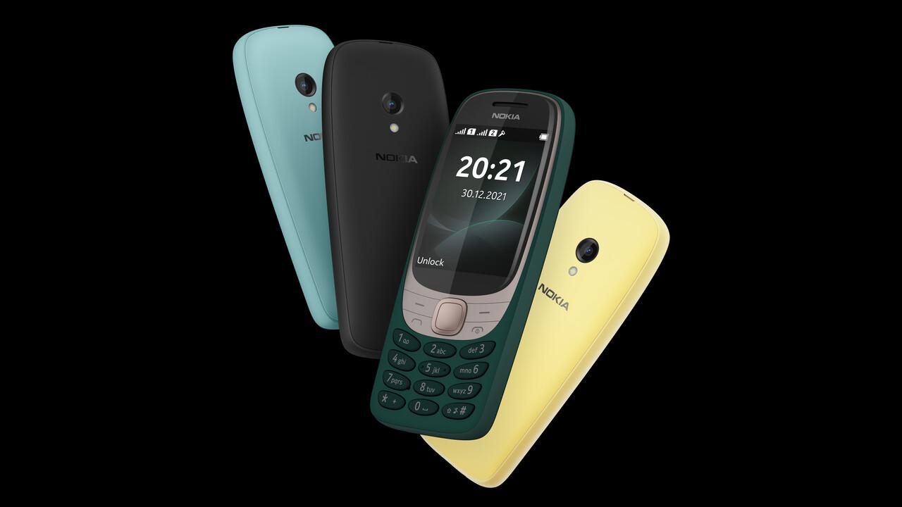 Nokia 6310: El celular clásico regresa después de 20 años por 63,10 euros - Liukin