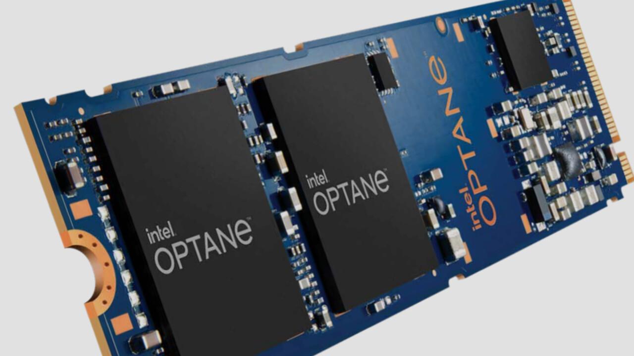 Optane P1600X: SSD de arranque rápido y pequeño de Intel para el centro de datos