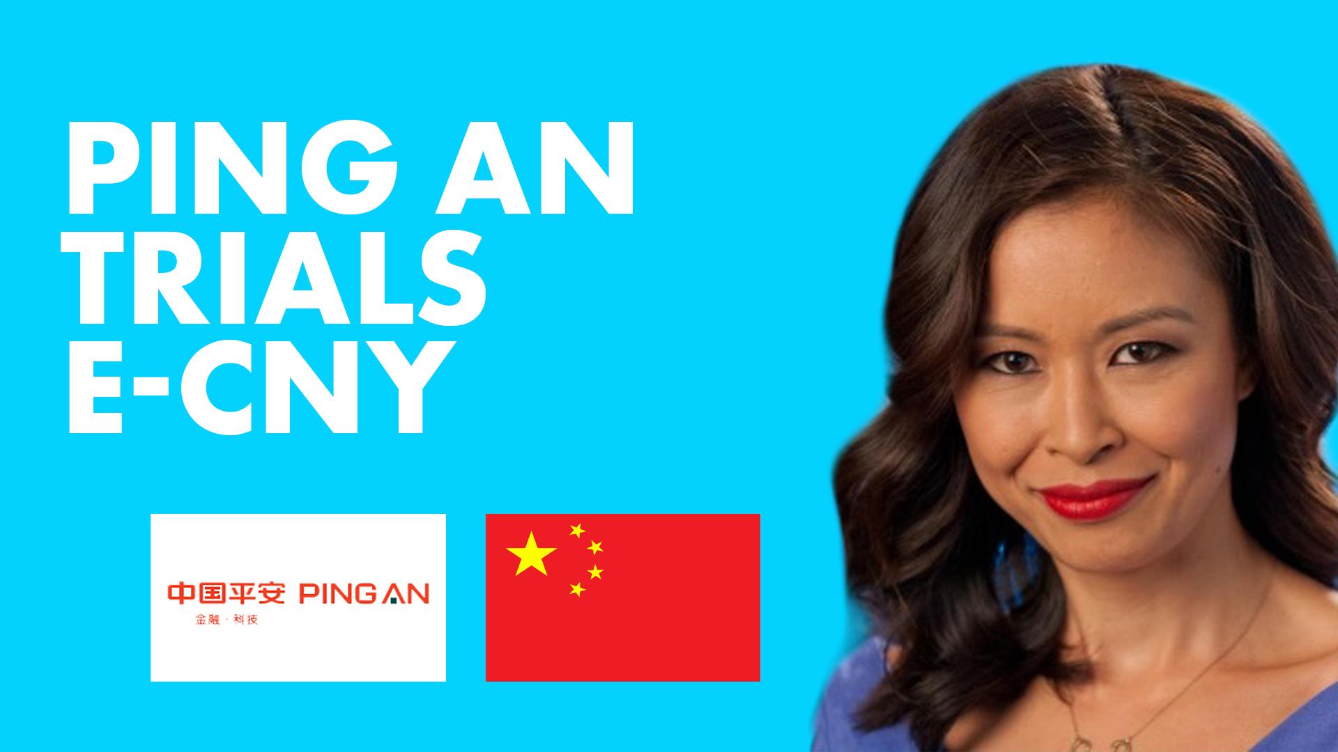 Ping An Trials E-CNY;  Core Scientific se hará público