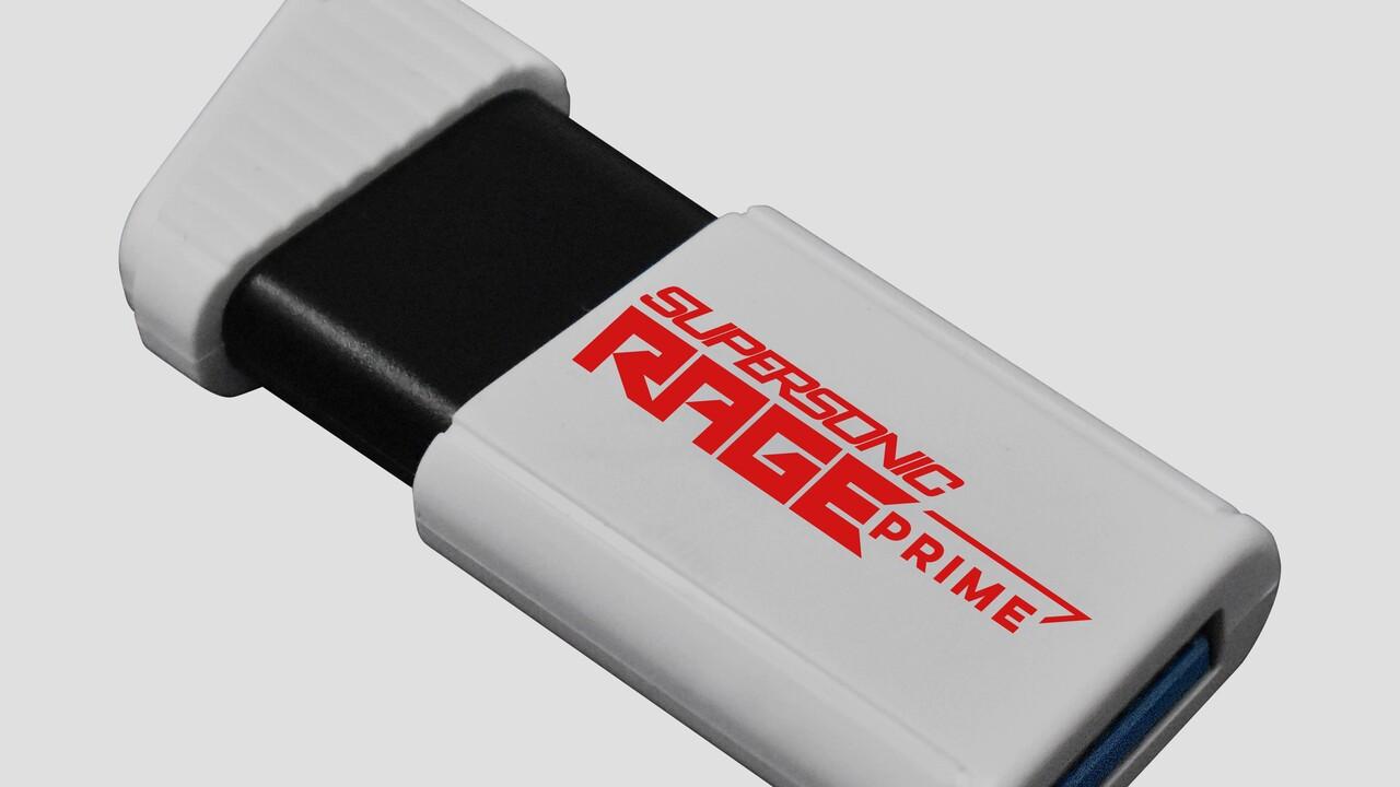 Supersonic Rage Prime: memoria USB 3.2 con 1 TB y 600 MB / s en 5 cm