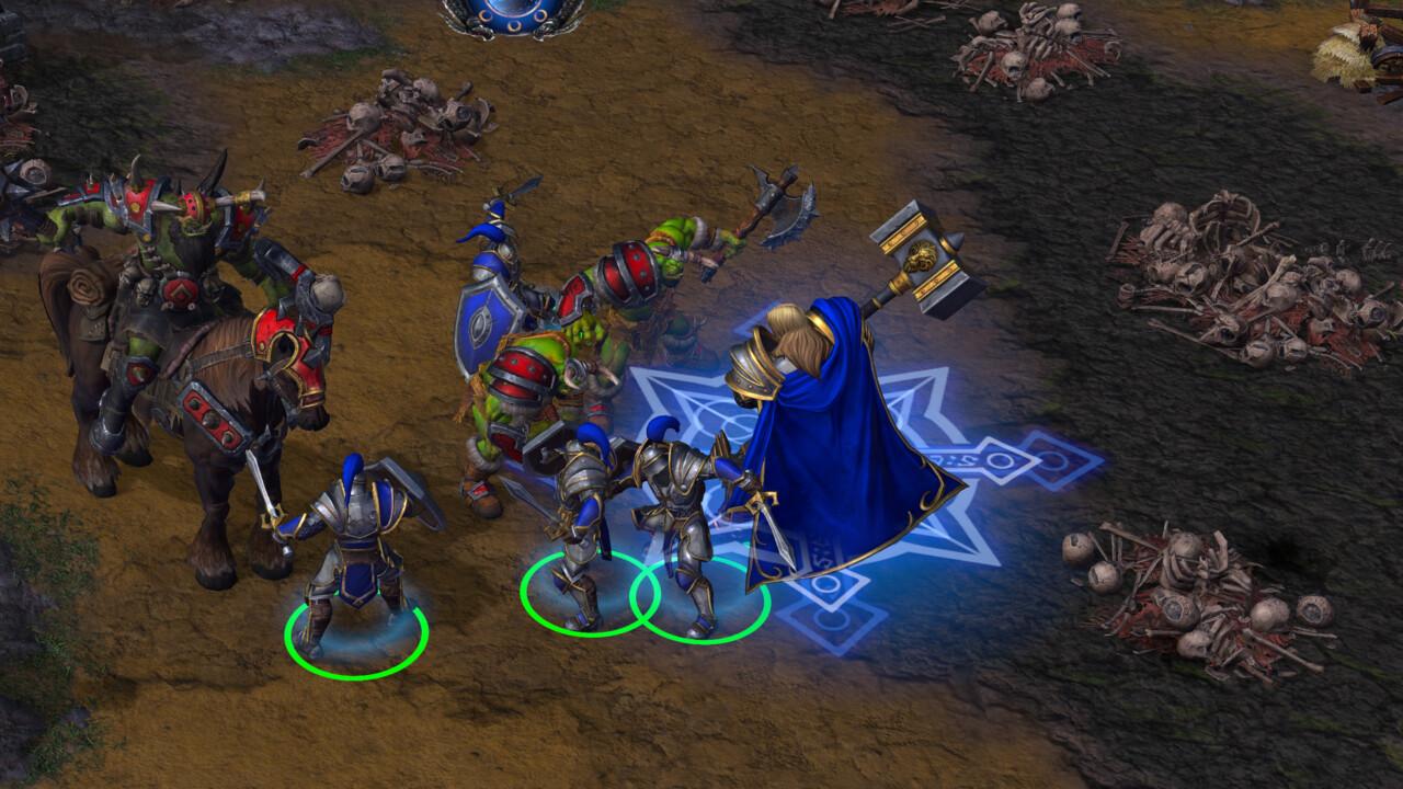 Warcraft 3 Reforged: Responsable de gestión y dinero del Estado