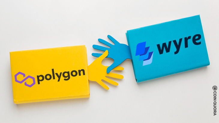 Wyre Announces Partnership With Polygon To Offer USDC Tokens to Customers