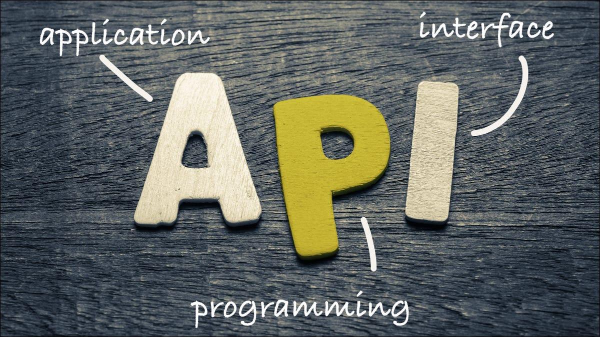 API definida como interfaz de programa de aplicación