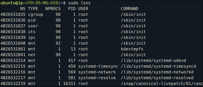 ¿Qué son los espacios de nombres de Linux y para qué se utilizan?  - CloudSavvy IT