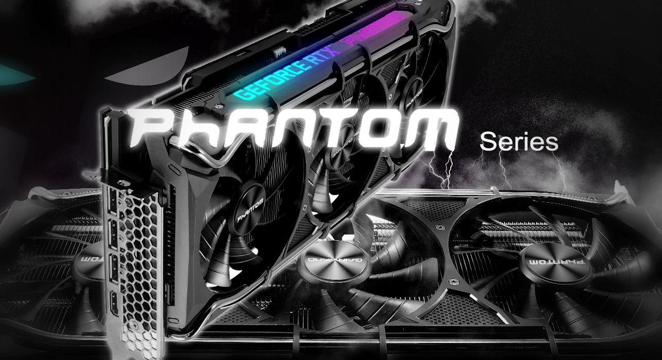 Gainward presenta la serie GeForce RTX 30 Phantom + GPU