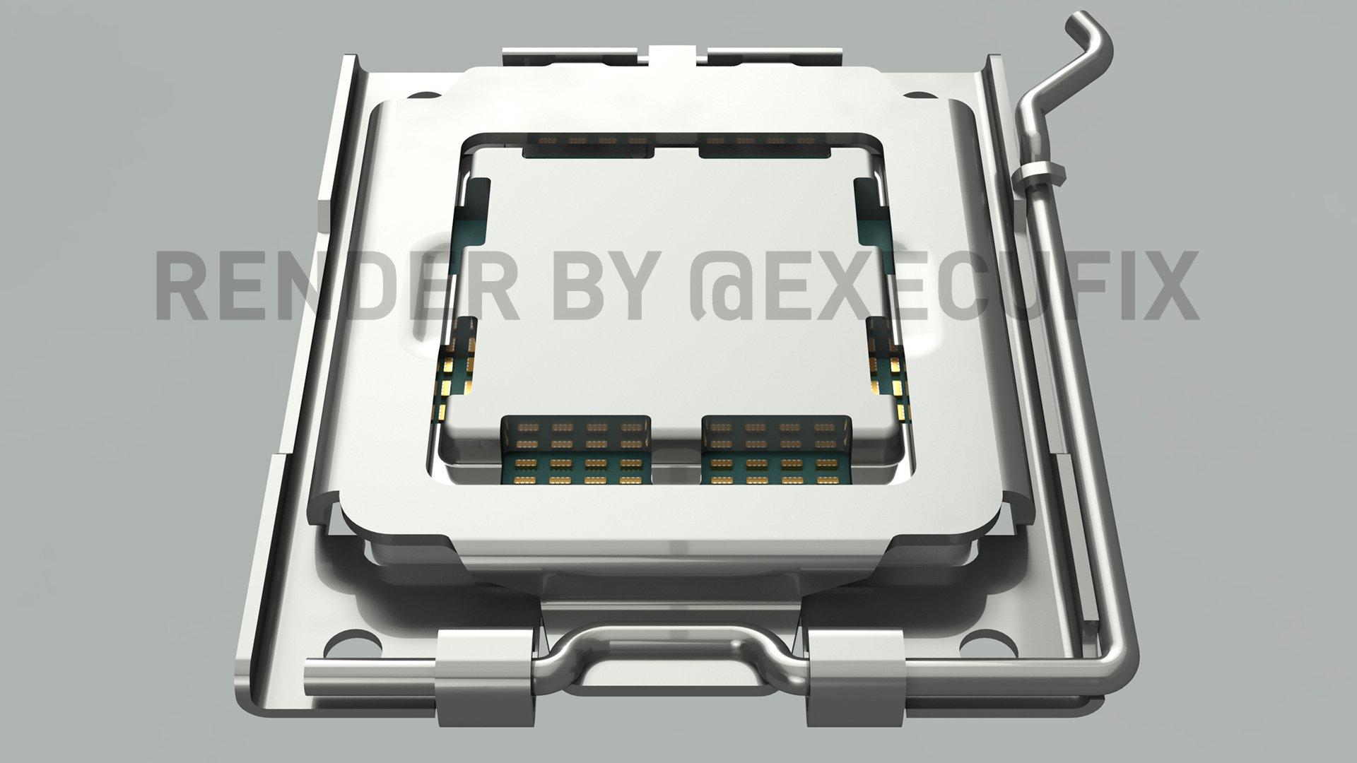 Se revelan los requisitos de TDP del disipador térmico y diseño de enchufes AMD AM5 LGA 1718, hasta 170 W TDP y compatible con enfriadores AM4