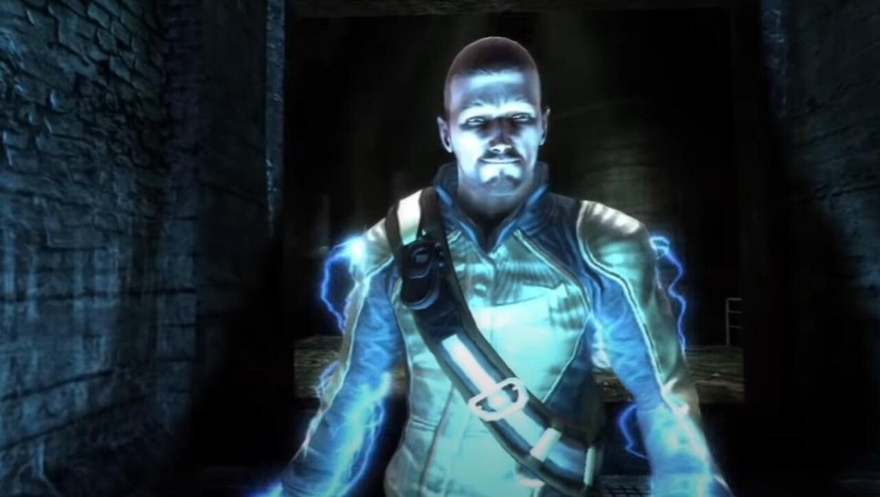 La versión de Cole para PS3 no se ve tan bien como Ghost of Tsushima en PS5, pero entiendes la idea.