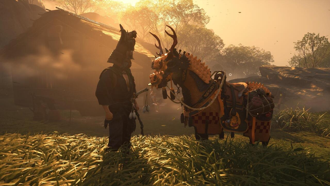 Potencia las habilidades de tu caballo en la batalla con la armadura de caballo Kazusama Sakai.