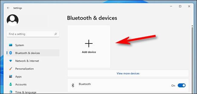 """Hacer clic """"Añadir dispositivo."""""""