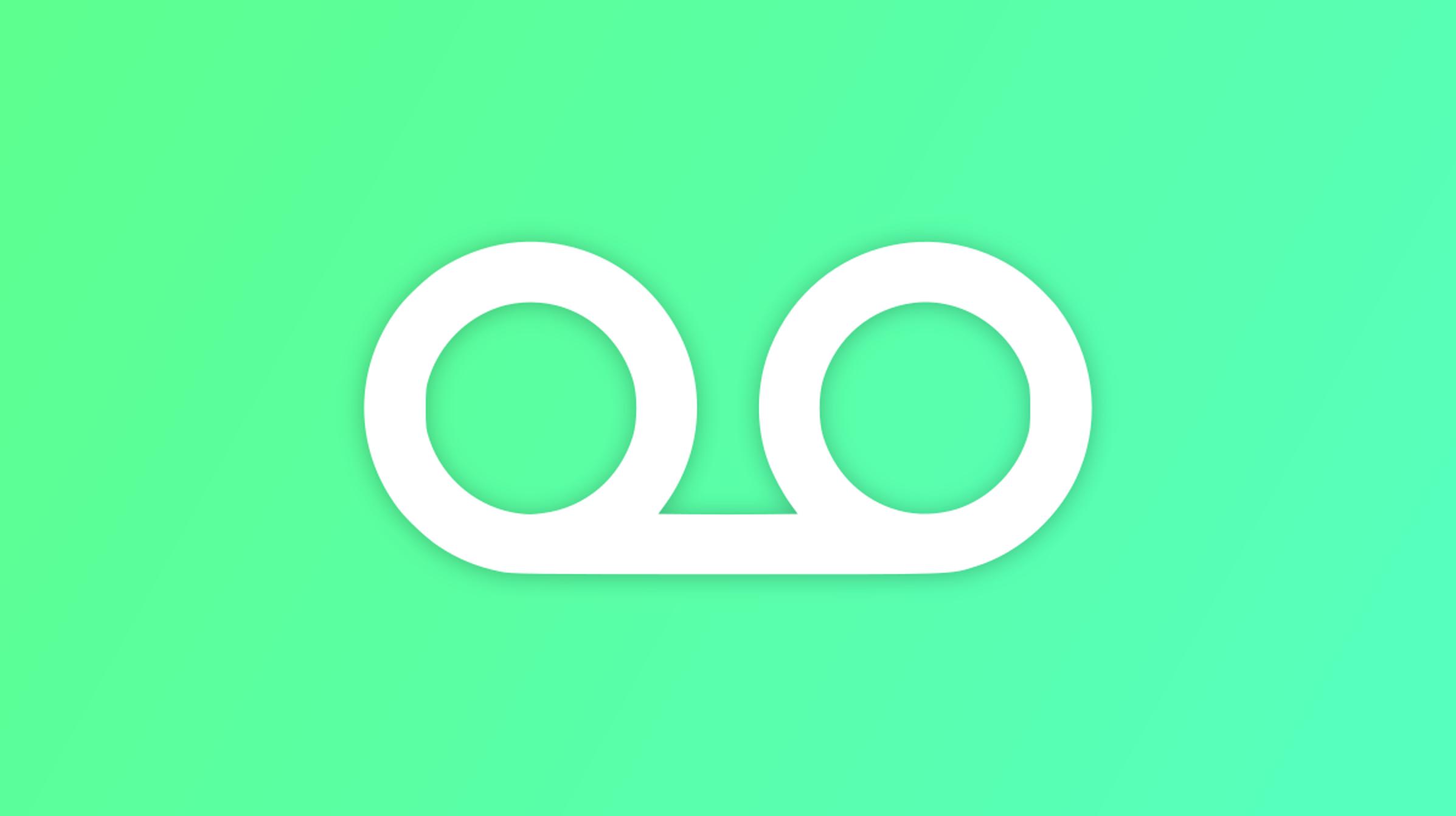 Cómo configurar un saludo de correo de voz en Android