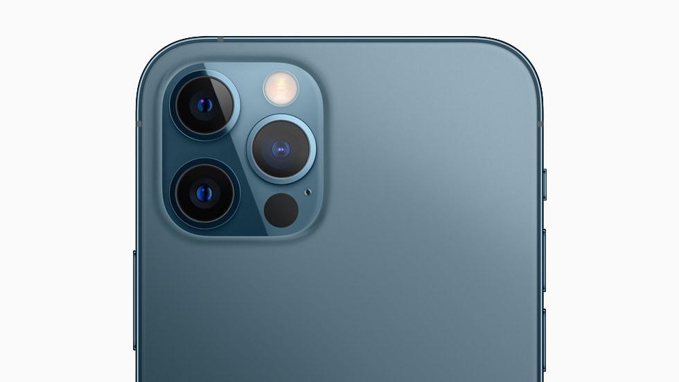 Apple iPhone 12 Pro se muestra solo con fines de representación.  Imagen: Apple