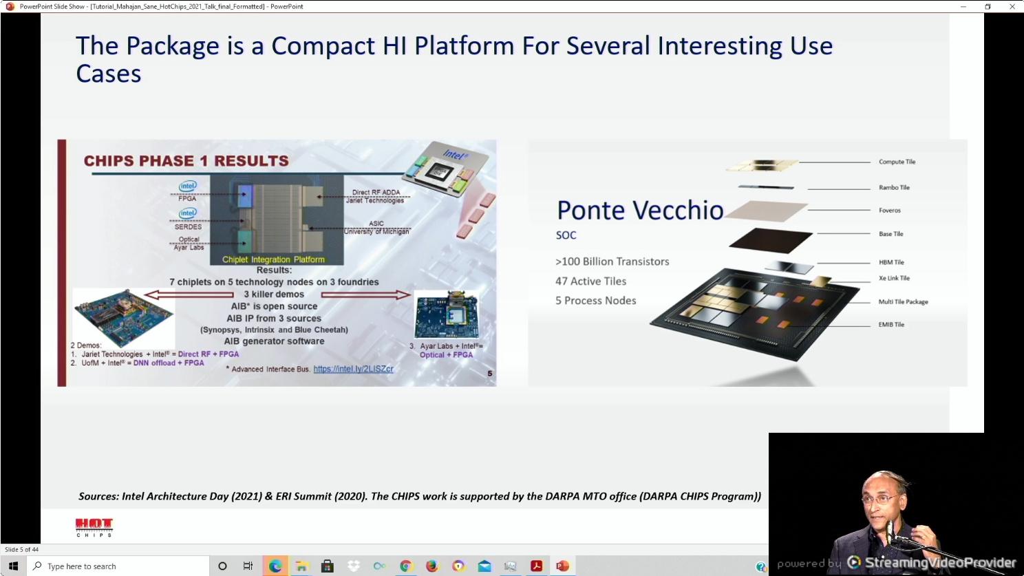 Proveedor de tecnología: tecnologías de empaquetado Intel para chiplets y 3D