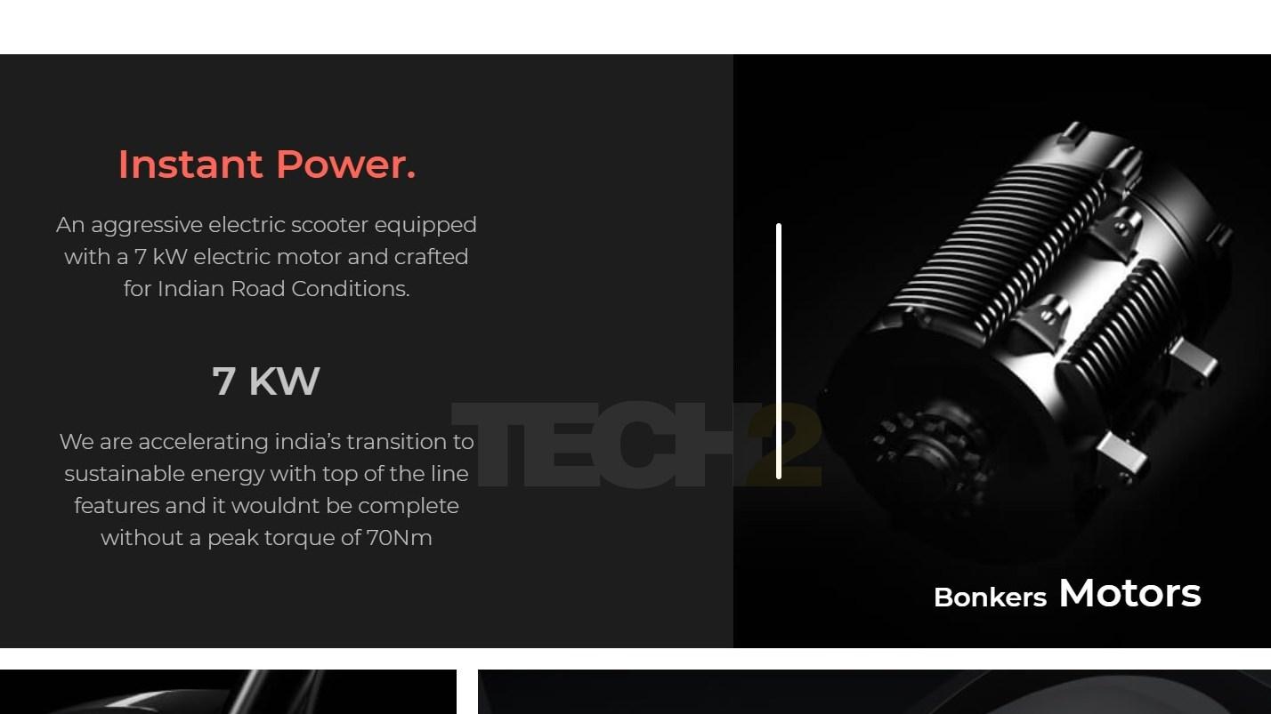La potencia máxima para el motor del Simple One fue de 7 kW antes y durante algún tiempo incluso después del lanzamiento.  Imagen: Energía simple