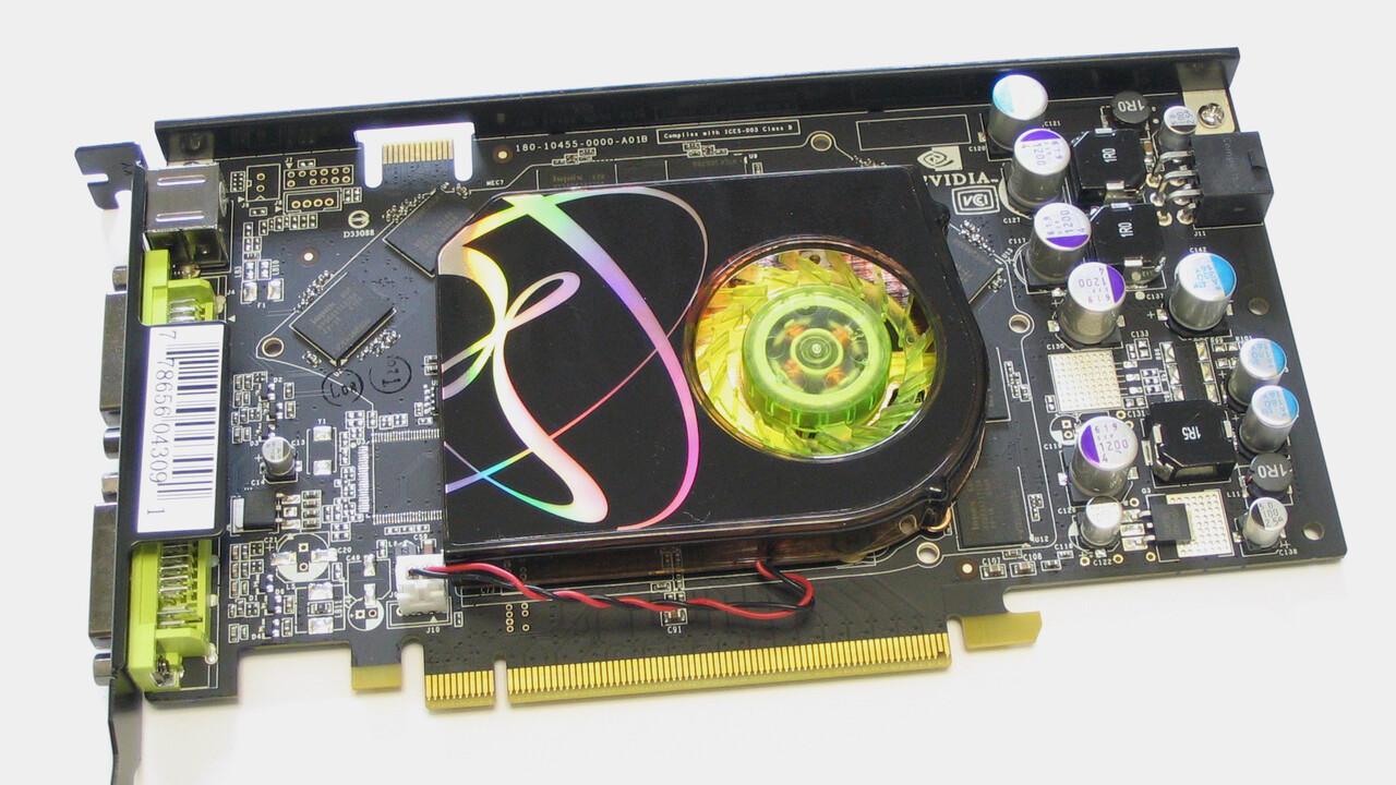 Im Test vor 15 Jahren: Die GeForce 7900 GS war eine günstigere 7900 GT