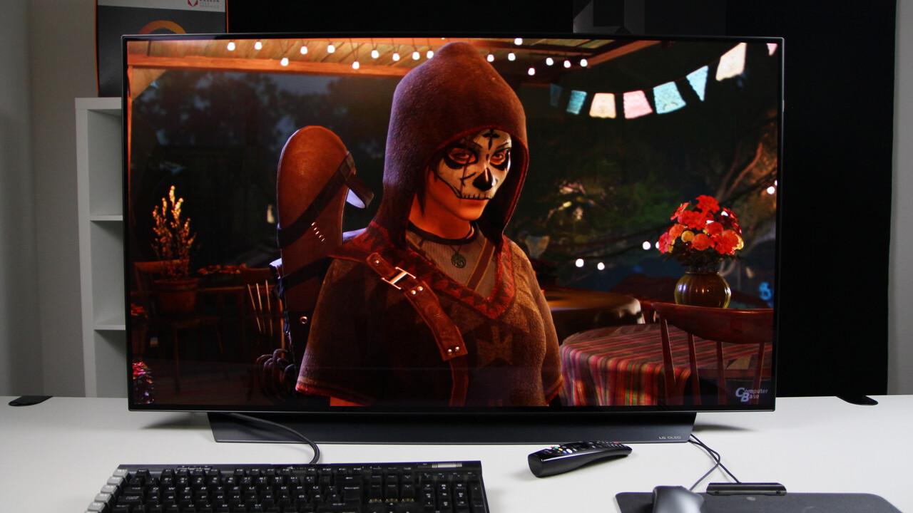 42 Zoll: LGs kleinster OLED-TV für Gamer soll erst 2022 kommen