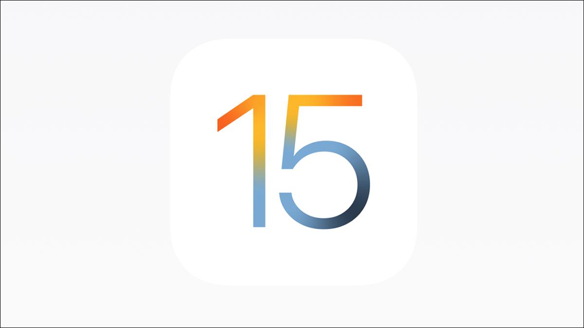 logotipo de iOS 15