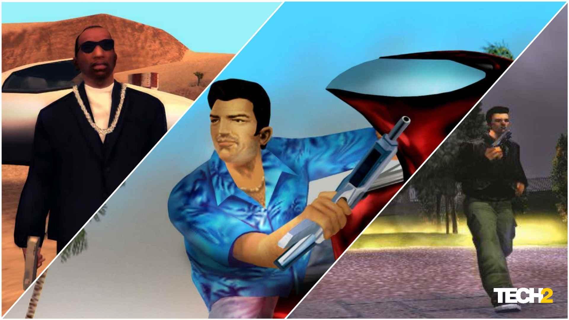 Las remasterizaciones de los icónicos juegos de GTA conservarán la apariencia de los títulos originales.  Imagen: Tech2 / Amaan Ahmed