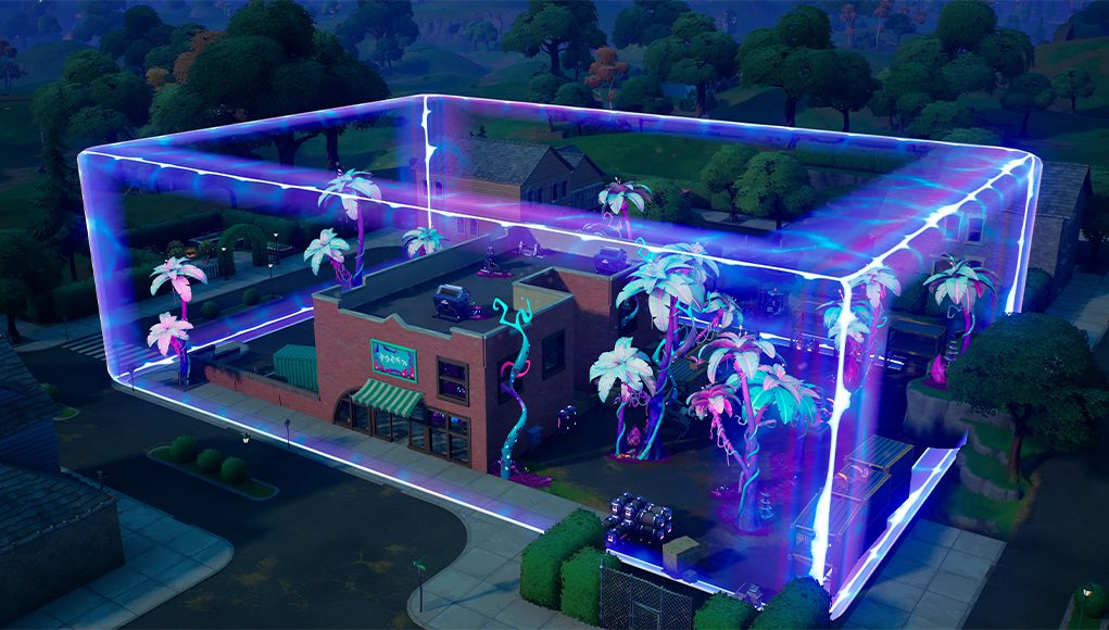 Bioma alienígena en Fortnite