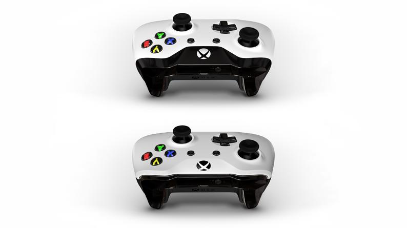 Los controladores con el diseño en la parte superior NO tienen Bluetooth, mientras que los que tienen el diseño en la parte inferior sí.