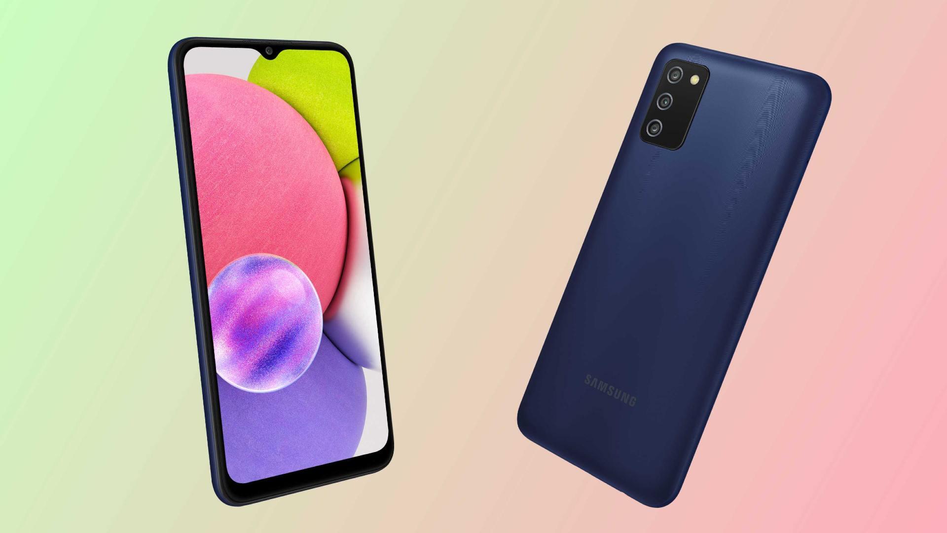 El Samsung Galaxy A03s estará disponible en dos variantes de almacenamiento.  Imagen: Samsung / Tech2