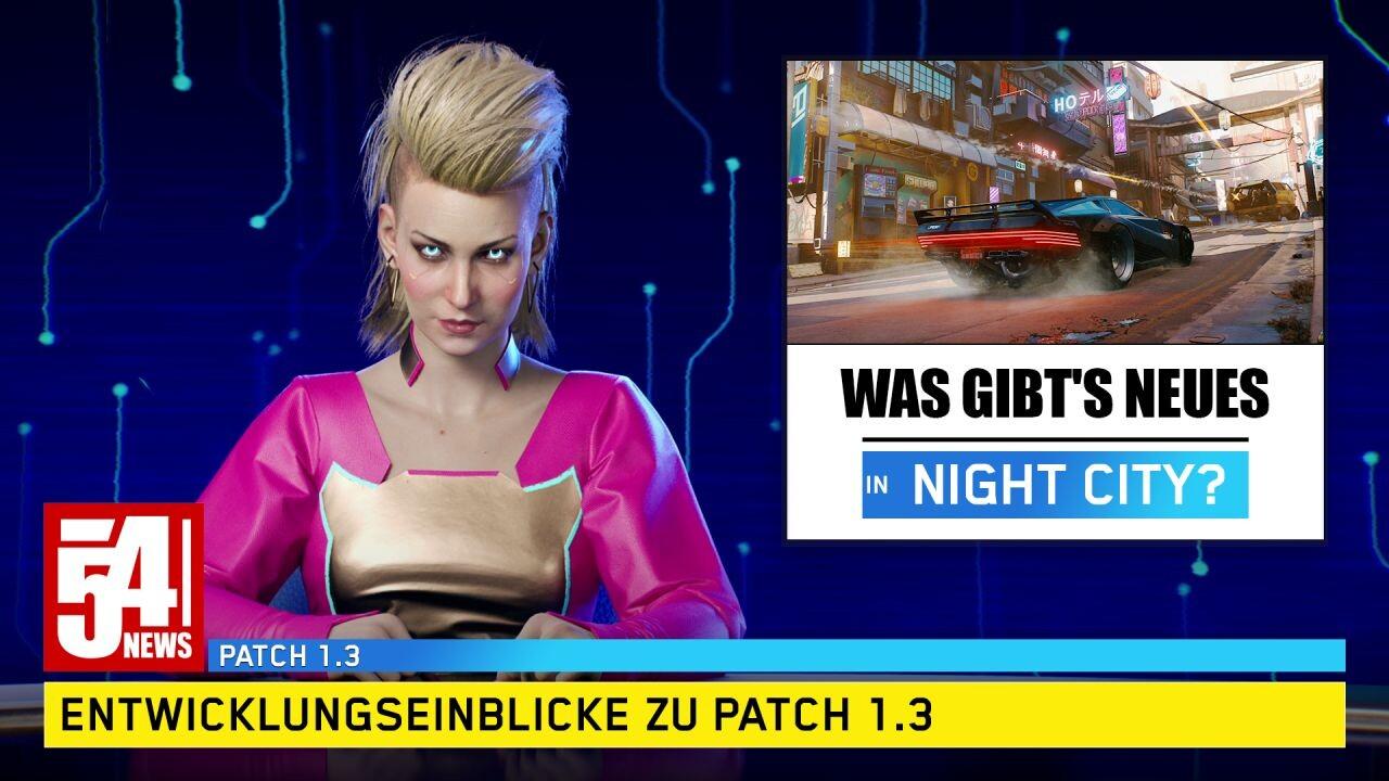 Cyberpunk 2077: CD Projekt ofrece una vista previa del parche 1.3