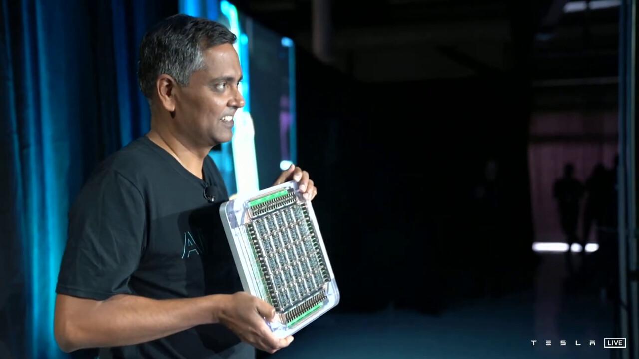 Dojo: Tesla zeigt eigenen D1-Chip und ExaFLOPS-Supercomputer
