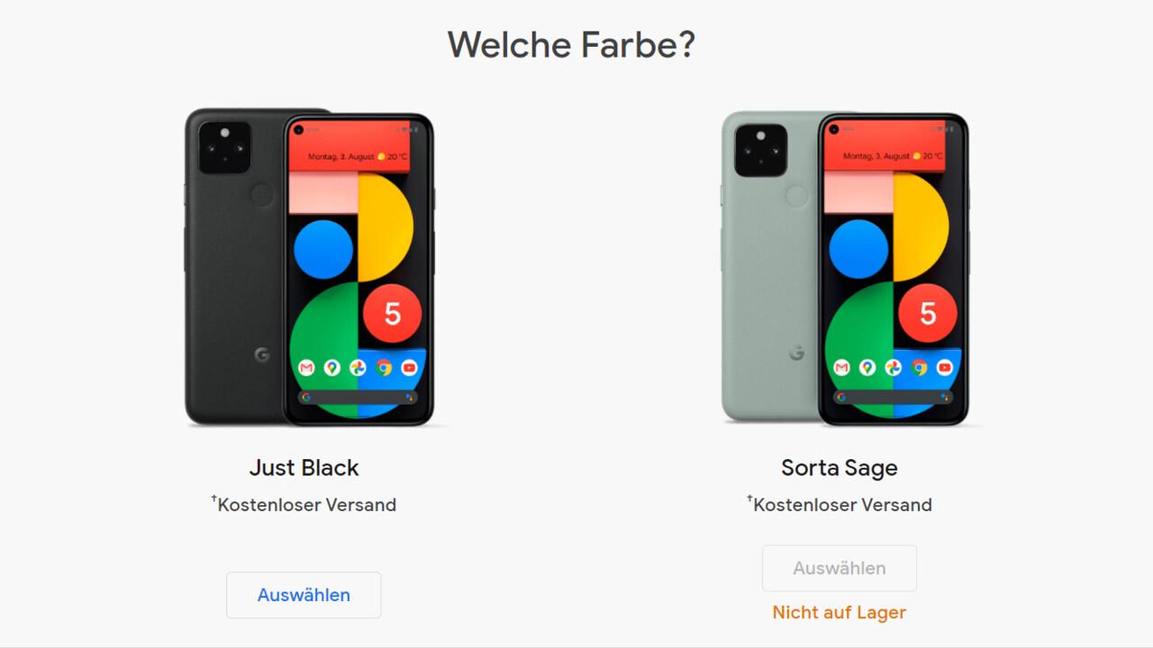 Google: el Pixel 5 está en EOL y, por el momento, sin un sucesor disponible