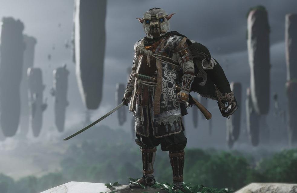 La Armadura del Coloso recuerda tanto al protagonista como a los imponentes enemigos de Shadow of the Colossus, que se encuentran en el Shrine in Shadow en el sur de la isla Iki.
