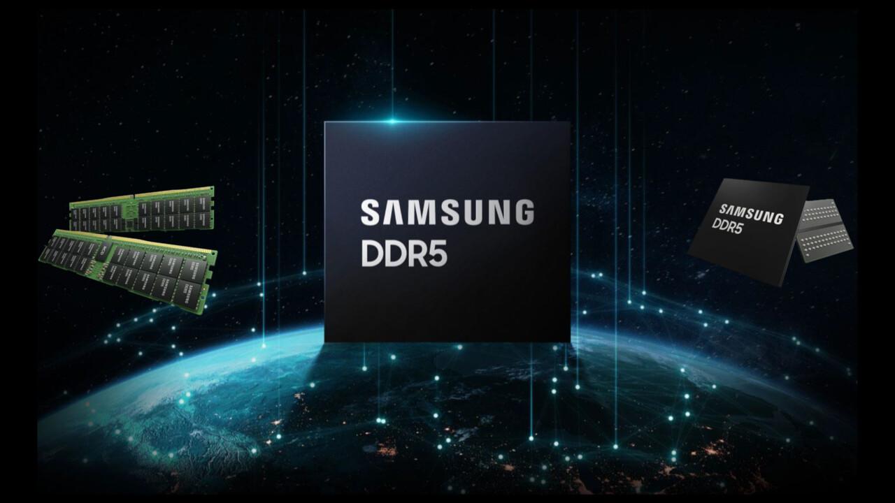 Hot Chips 33: Samsung revela detalles de barras DDR5 de 512 GB