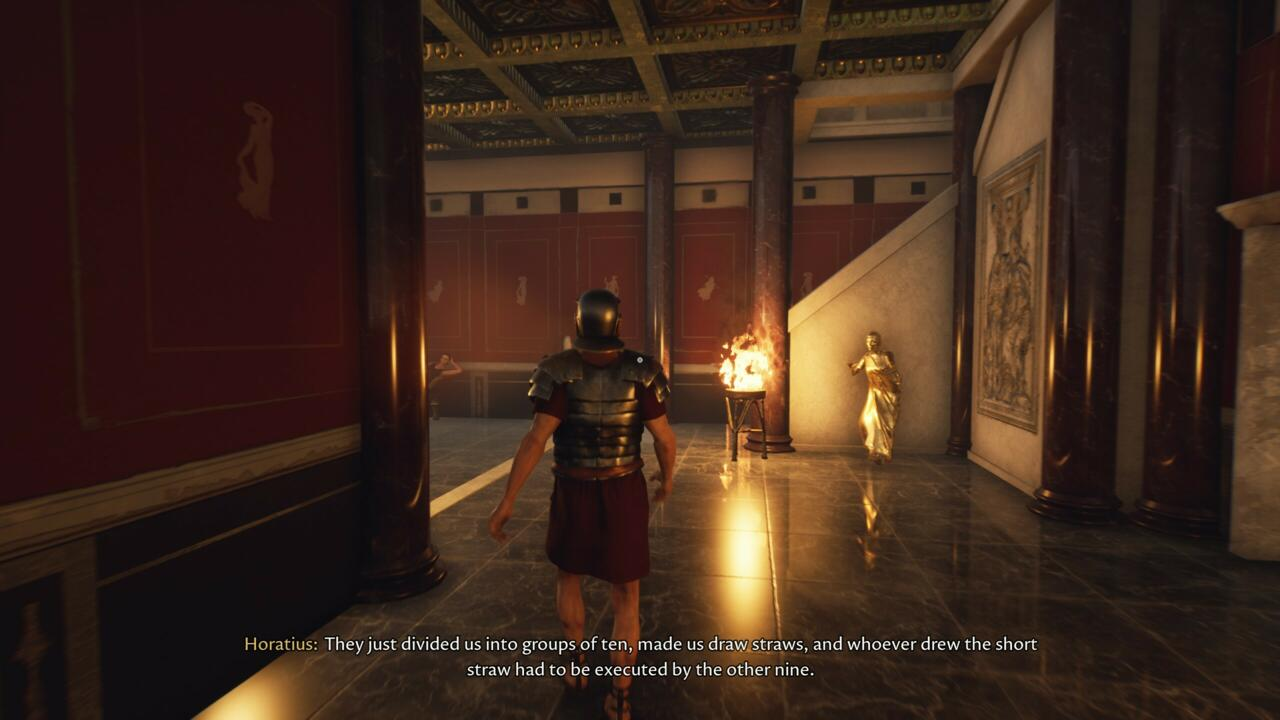 A lo largo de tu aventura, te encontrarás con muchos personajes que explican la extraña historia del escenario.