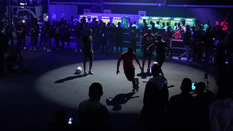 Eventos paralelos en el VS Gaming Festival, un evento de la FIFA en Sudáfrica