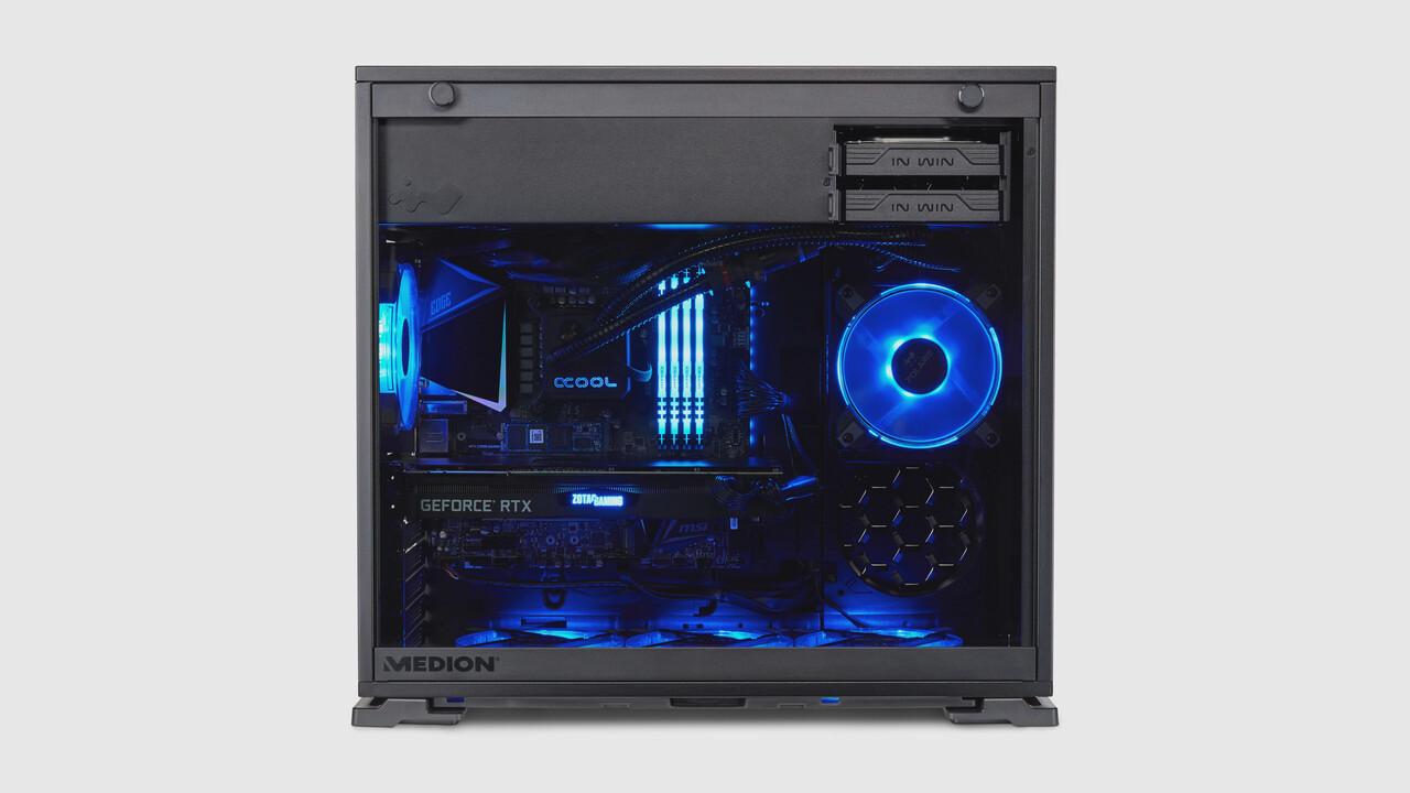 Medion Erazer Hunter X20: una GeForce RTX 3090 con PC cuesta 3.700 euros en Aldi