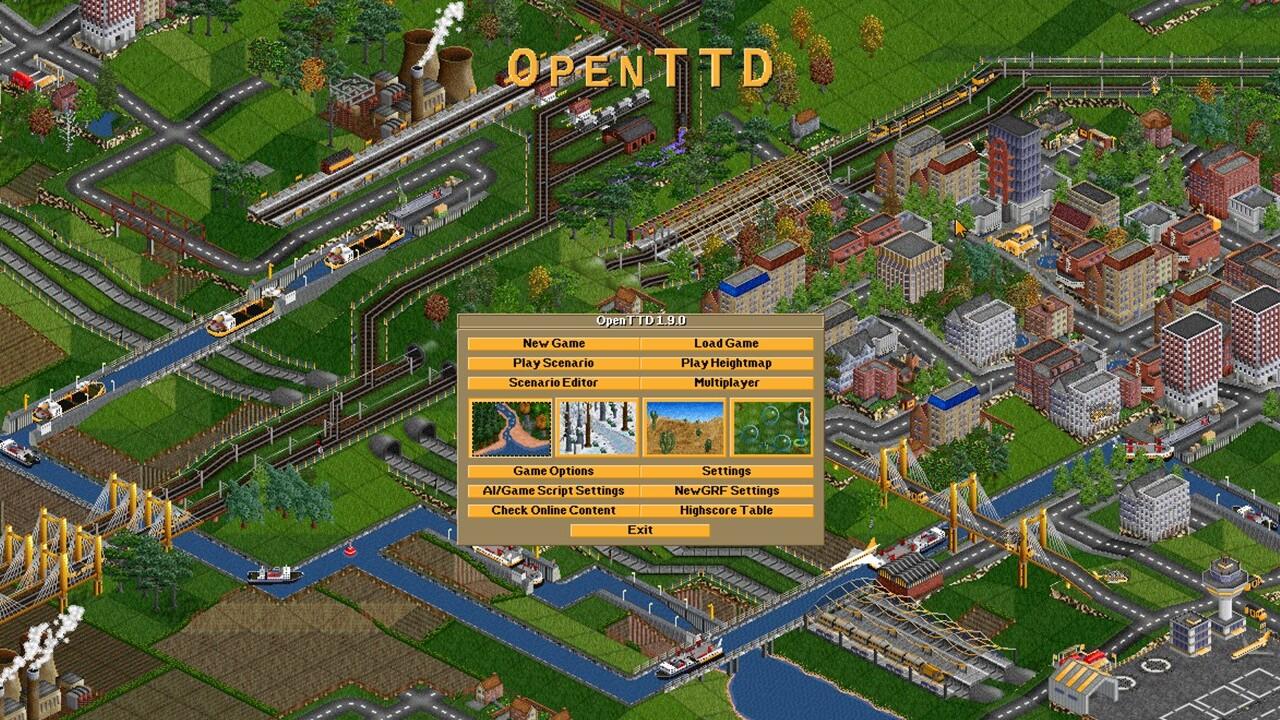 OpenTTD 12.0: el clon gratuito de Transport Tycoon llega a la beta